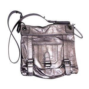 Vintage SAK Silver Grey Shoulder/Crossbody bag